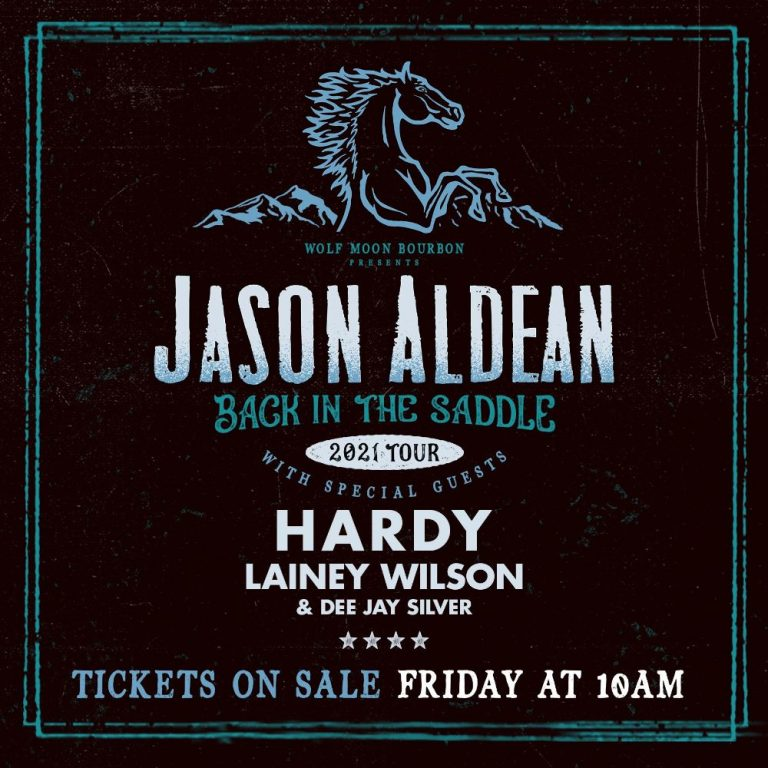Jason Aldean To Return To The Stage With Back In The Saddle Tour 2021