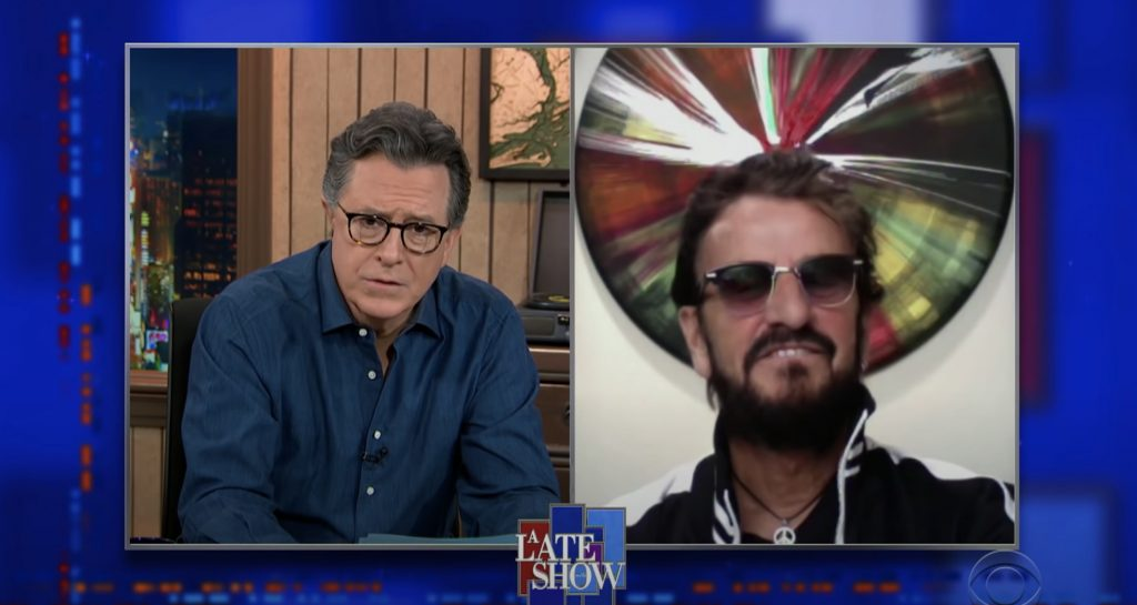 Ringo Starr Reveals Favorite Beatles Song on 'Colbert'