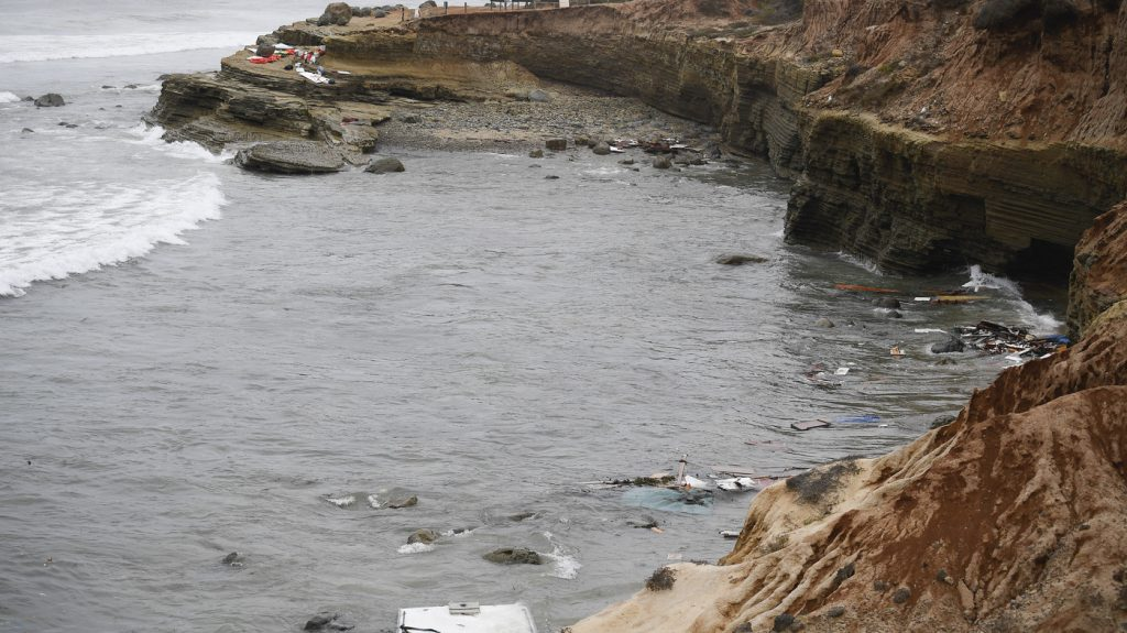 4 Dead, Dozens Injured After Suspected Smuggling Boat Capsizes Near San Diego : NPR