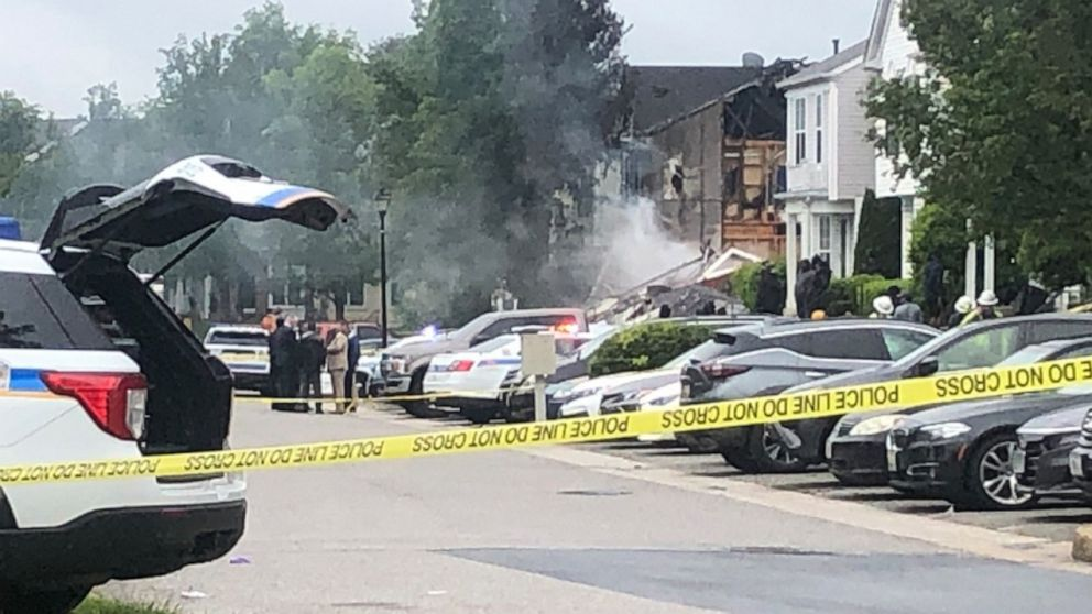 3 dead, including suspect, 2 injured after 'horrific' shooting, fire in Maryland