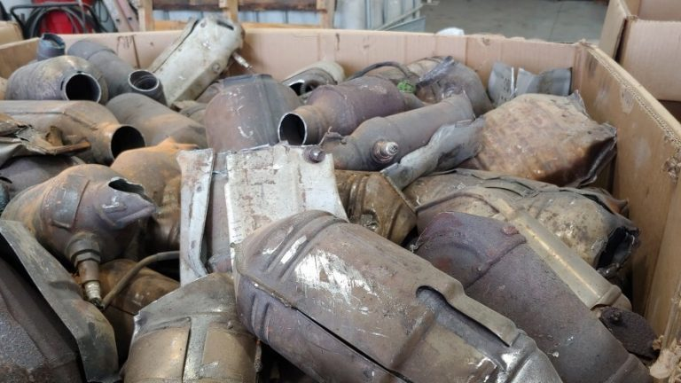 There's Big Money In Stolen Catalytic Converters : NPR