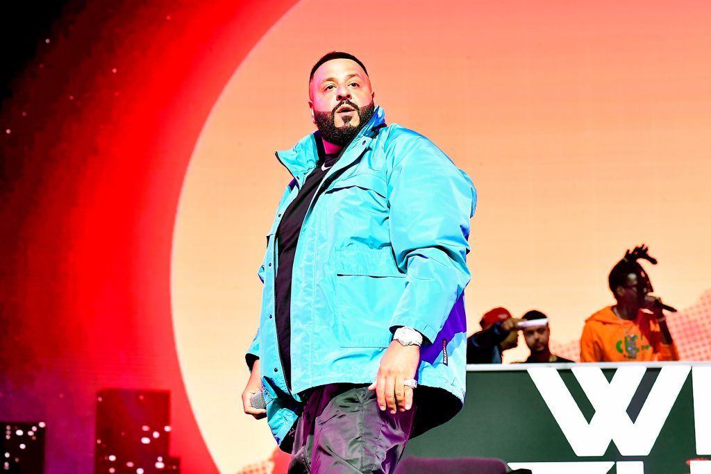 MIAMI, FLORIDA - JANUARY 30: DJ Khaled performs onstage during the EA Sports Bowl at Bud Light Super Bowl Music Fest on January 30, 2020 in Miami, Florida. (Photo by Frazer Harrison/Getty Images for EA Sports Bowl at Bud Light Super Bowl Music Fest  )