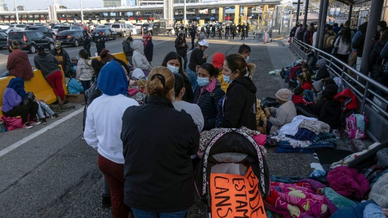 As More Migrants Arrive, U.S. Grants More Exceptions To Allow In The Most Vulnerable : NPR