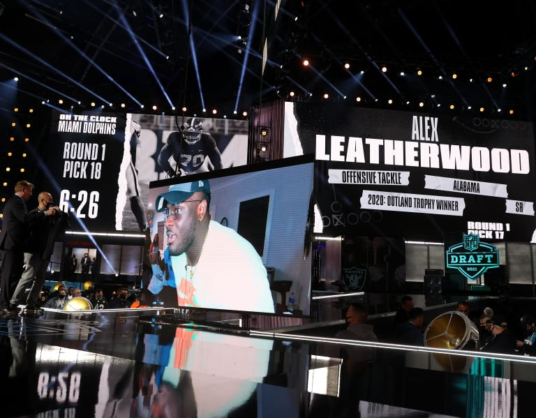 Fact or Fiction: Alex Leatherwood was biggest first-round reach