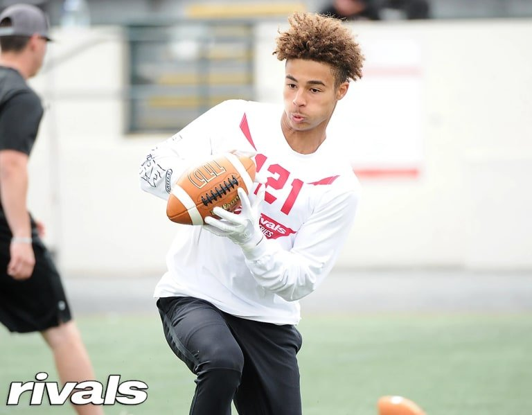 WR Kyion Grayes lays out Ohio State commitment