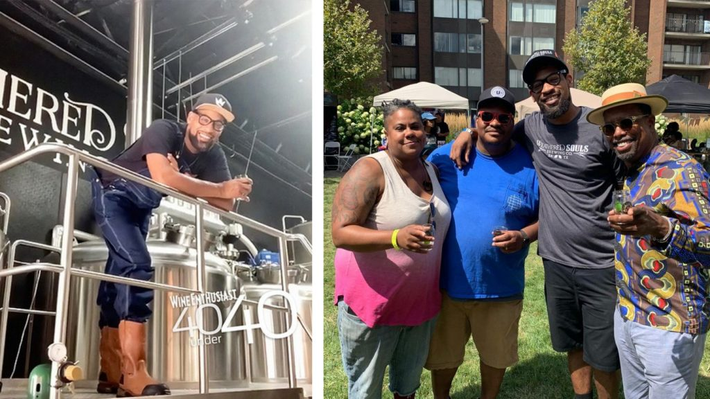 'Black Is Beautiful' Beer By Black Brewer Helps Pour Money Into Social Justice Reform : NPR