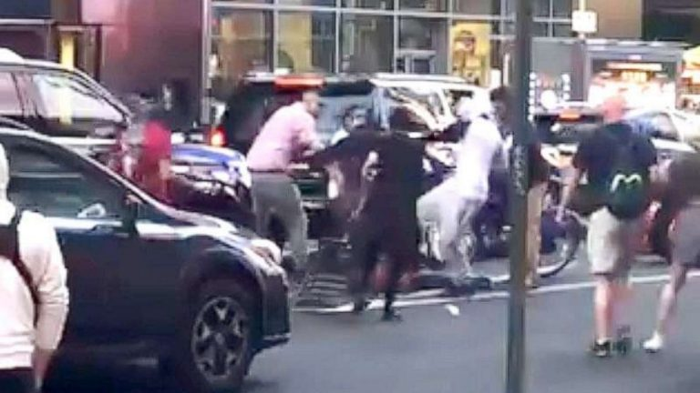 Jewish man beaten in New York City amid dueling protests over Israel and Hamas, police say