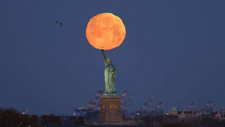 Pink moon is 1st supermoon of 2021: When to see it