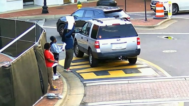 North Carolina judge accused of almost hitting Black Lives Matter protesters with his car