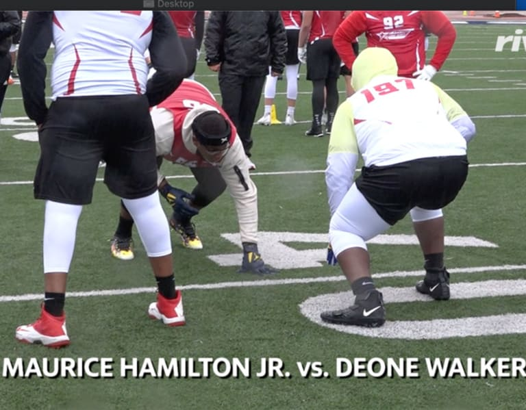 RCS Indianapolis: OL vs DL 1on1s