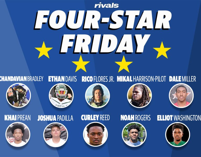 Four-Star Friday: Ten new four-stars emerge in 2023 class