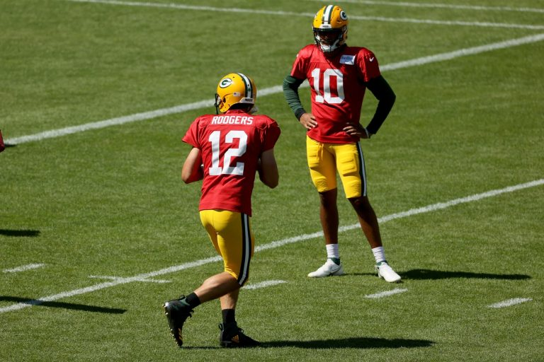 Jordan Love will be ready to start with or without Aaron Rodgers in town