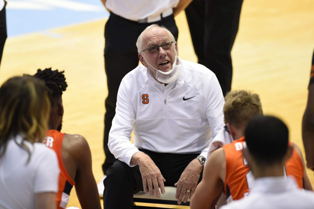 When will Jim Boeheim retire and who will succeed him as Syracuse baskeball coach?