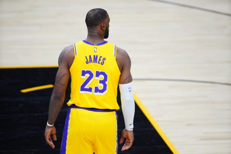 LeBron James changing his jersey number for next season with the Lakers