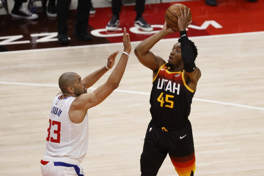 Donovan Mitchell's playoff stardom continues to shine in Game 1