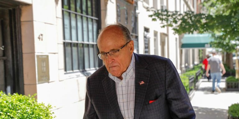 Rudy Giuliani's New York Law License Suspended Over False Election 2020 Statements