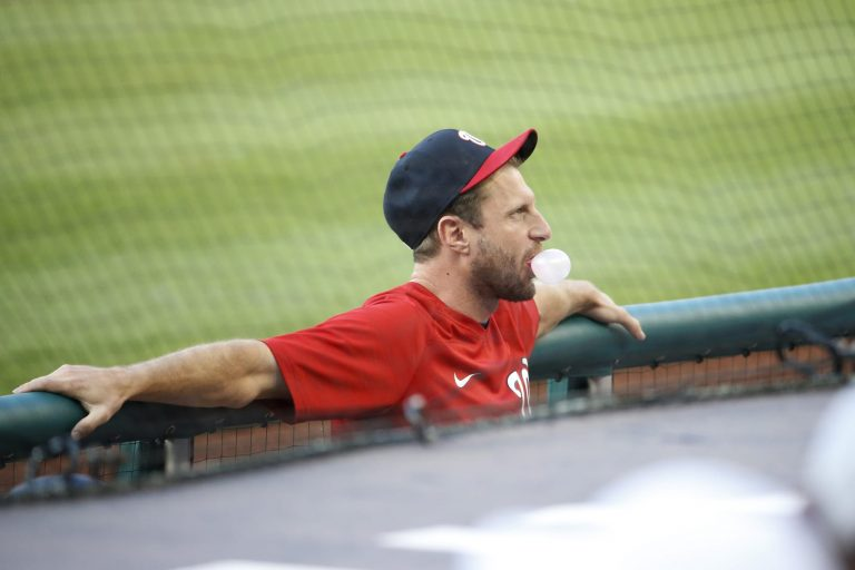 Max Scherzer wanted umps to check Bryce Harper's hair for substances