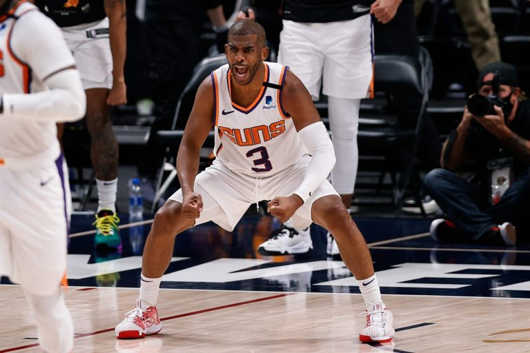 Chris Paul and the Phoenix Suns are taking each other to new heights