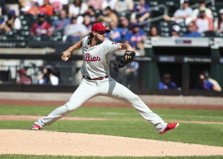 Aaron Nola makes MLB history with 10 straight strikeouts