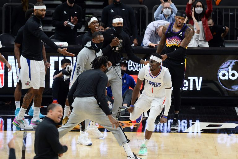 Bayless, Sharpe, Cowherd react to Clippers surviving vs. Suns in Game 5