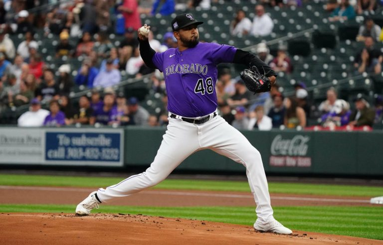 German Marquez nearly did the impossible at Coors Field