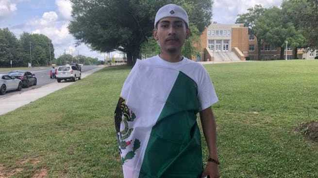Mexican Flag Worn At Graduation Caused Student's Diploma To Be Withheld : NPR