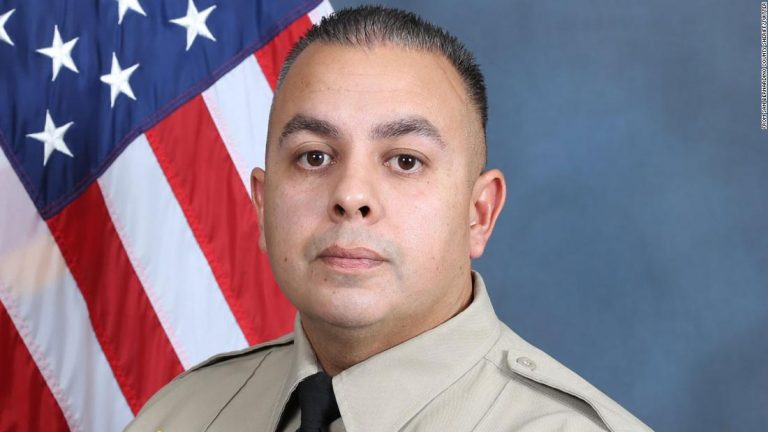 San Bernardino, California: Sergeant Dominic Vaca has died after being shot in the line of duty