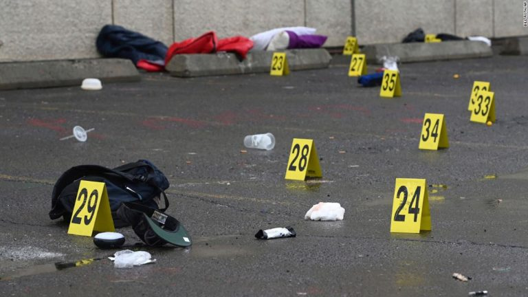 7 killed, more than 40 injured in 10 mass shootings across US over the weekend