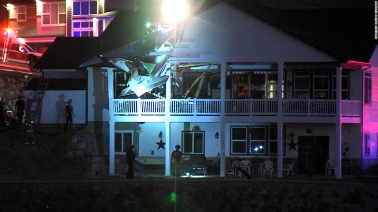 North Logan plane crash: One person is killed after a plane crashed into a Utah home
