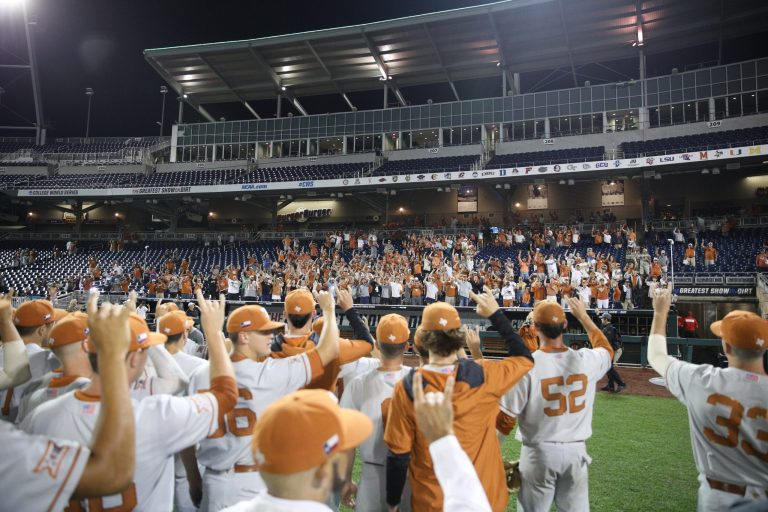 Texas wins late night affair; Vandy advances after win, NC State