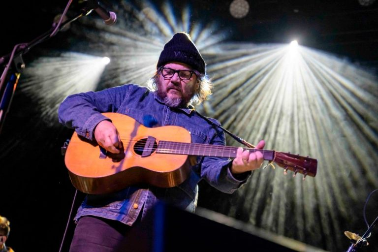Bergen, Norway. 07th, September 2019. The American alternative rock band Wilco performs a live concert at USF Verftet in Bergen. Here singer, musician and songwriter Jeff Tweedy is seen live on stage. (Photo by: Avalon/PYMCA/Gonzales Photo/Jarle H. Moe/Universal Images Group via Getty Images)