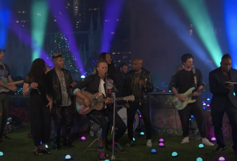 Watch Coldplay Perform Stripped Down 'Higher Power' on 'Fallon'