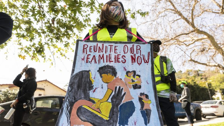 Reuniting Migrant Families Is Going Very Slowly For The Biden Administration : NPR