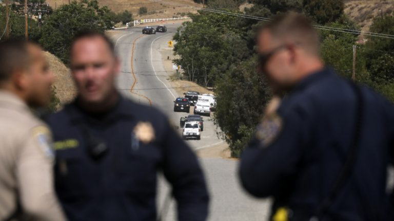 Off-Duty L.A. Firefighter Kills 1 And Injures Another In Santa Clarita, Calif. : NPR