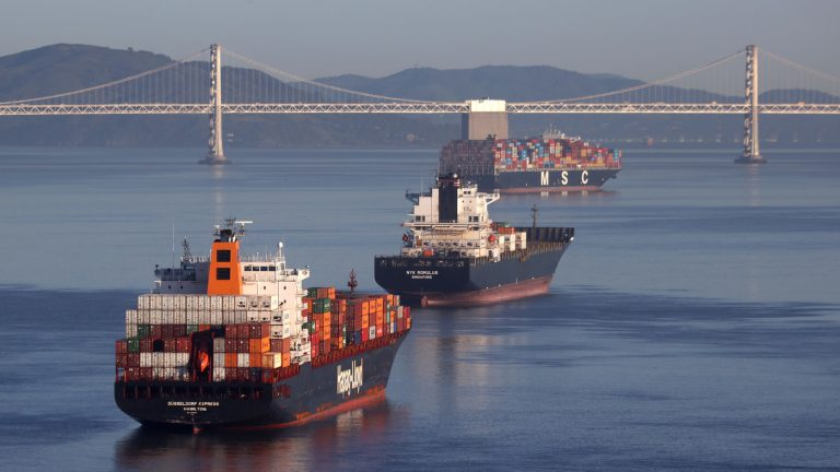 How 'Chaos' In the Shipping Industry Is Choking The Economy : Planet Money : NPR