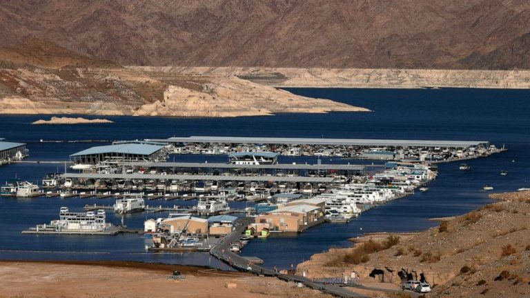 Why water levels in megadrought-impacted Southwestern states have some experts concerned