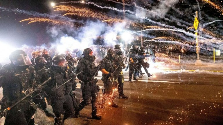 Portland police officer indicted on assault charge over alleged use of force at protest