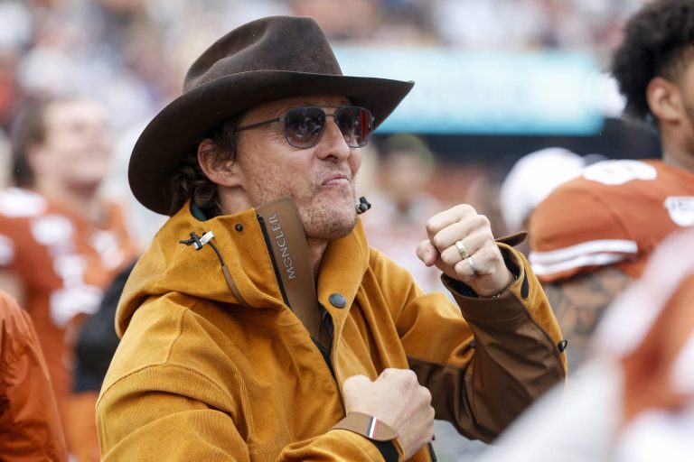 Matthew McConaughey's message after Texas joins SEC