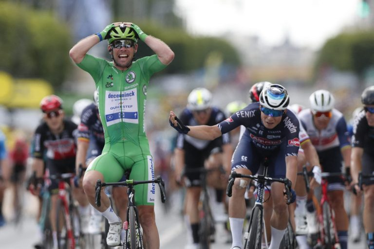 Mark Cavendish wins Tour de France Stage 6 in 32nd stage victory