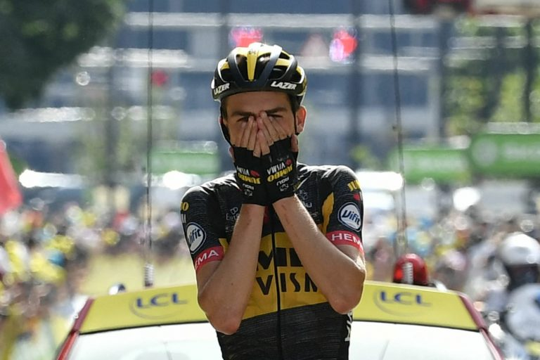 Sepp Kuss first American to win Tour de France stage in ten years