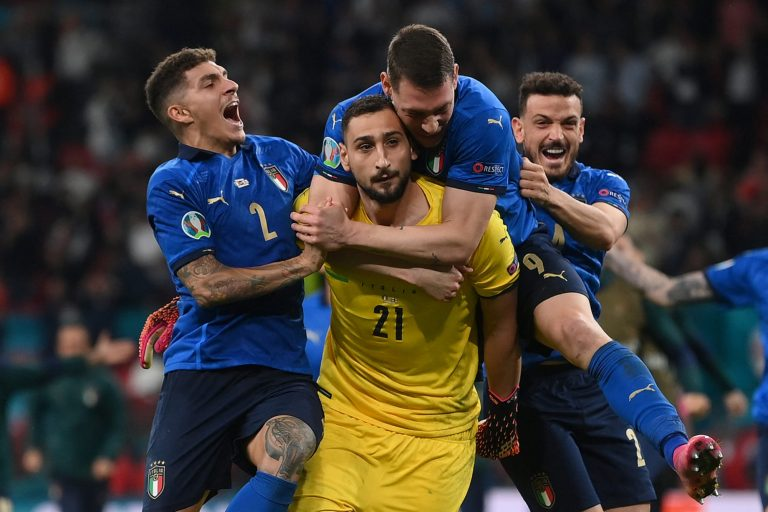 Italy's Euro MVP Donnarumma just getting started after shootout heroics