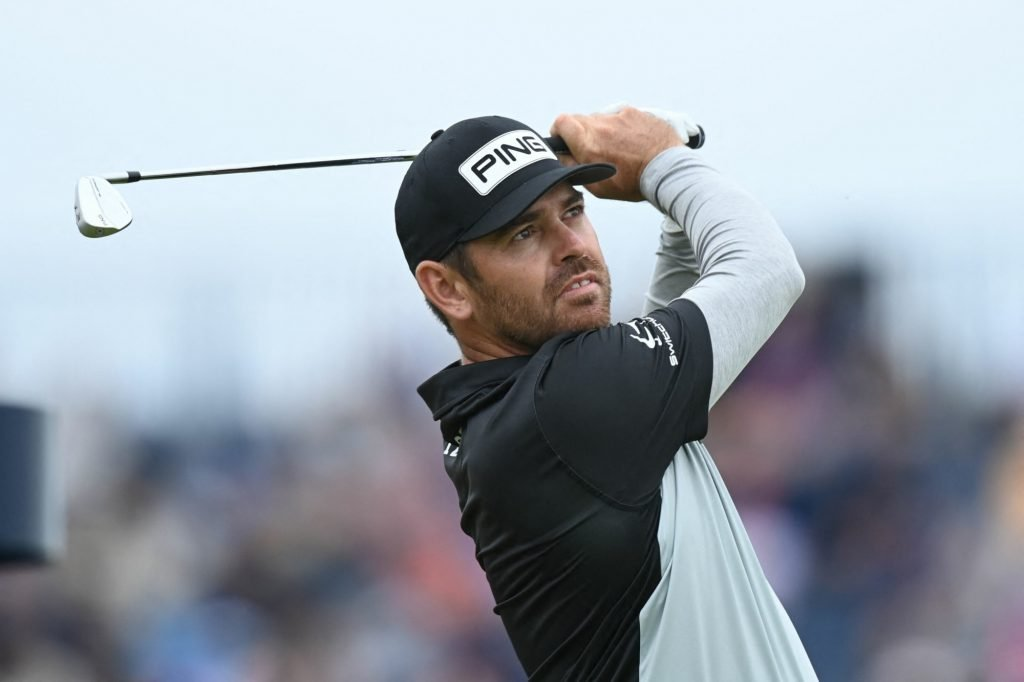 Louis Oosthuizen leads another major championship