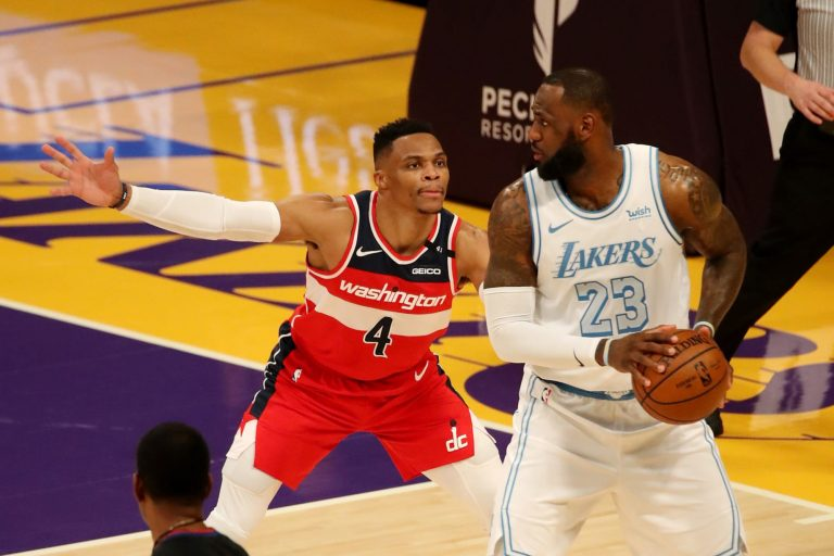 LeBron James seems excited about the Russell Westbrook trade (Photo)