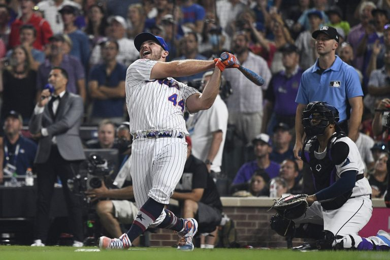 Pete Alonso absolutely crushed the 2021 Home Run Derby