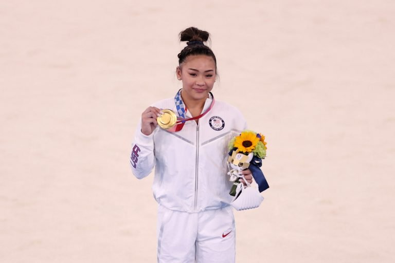 Suni Lee's family reacting to gold medal in all-around gives you all the feels