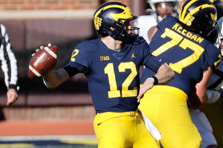 How much are Michigan football players getting for selling their jerseys?