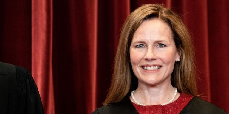 Justice Barrett Showed Her Conservative Stripes but Defied Expectations
