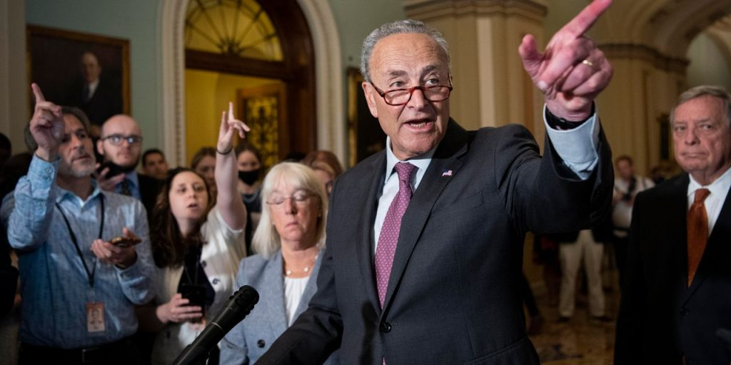 What's in Democrats' $3.5 Trillion Budget Plan—and How They Plan to Pay for It