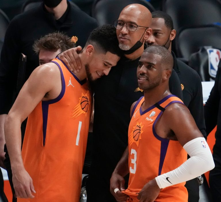 How many times have the Suns been to the NBA Finals?
