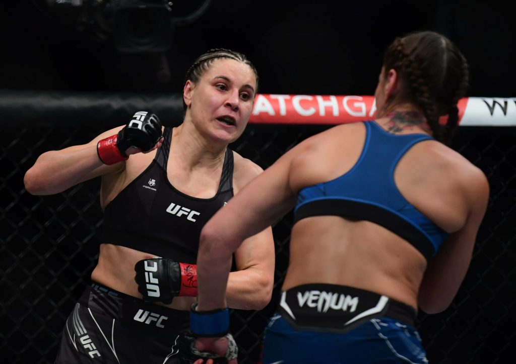 Jennifer Maia thinks win at UFC 264 is enough to stay in title picture